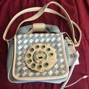 Betsey Johnson Rotary Phone Purse